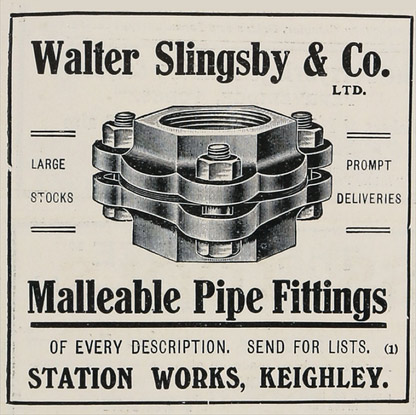 WASK Malleable Pipe Fittings Advert